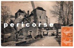 46  Meyronne Entée Du Village Au Dos Montvalent - France