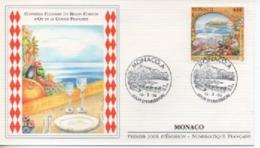 MONACO FDC   CONFRRIE  ULINAIRE  DU GRAND  CORDON  D OR     N° YVERT ET TELLIER  19394 1994 - FDC