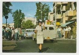 BA559 - ISRAEL - TEL AVIV - Police Woman On Duty In Tel-Aviv - Israel
