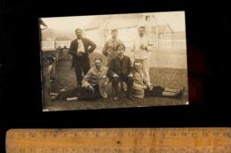 Photo Carte Photographie Militaire Divers Régiment Soldats Prisonnier De Guerre 1914 1918 - Guerre 1914-18