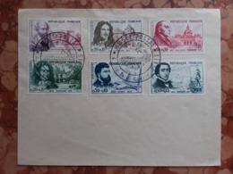 FRANCIA 1960 - Pro Croce Rossa - Nn. 1257/62 Timbrati Su Busta + Spese Postali - Gebraucht