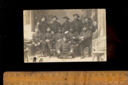Photo Carte Photographie Militaire 1 11 107 Régiment Soldats Chasseurs Alpins  / Dont REY De Bellevaux Savoie - Guerre 1914-18