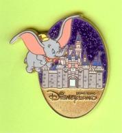 Pin's BD Disney Dumbo Éléphant Château - 2P14 - Disney