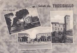 00192 - SALUTI DA TRESIGALLO - 3 VEDUTE - Italia