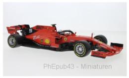 Ferrari SF90 - Sébastian Vettel - FI 2019 #5 - BBurago (1:18) - Burago