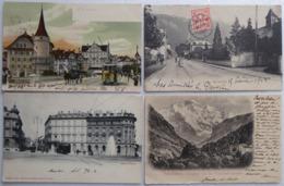 Suisse Lot De 60 Cartes Postales De 1901 à 1910 Triées Par Canton. - 5 - 99 Cartoline