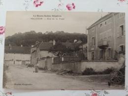 Vellexon Rue De La Poste  Haute Saône Franche Comté - Frankrijk