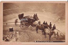 Suisse Ur Route De La Furka Et Poste Fotografica (17 X 11) - UR Uri