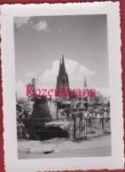 Old Original Photo (7x9.7cm) Oude Alte Foto Koln Keulen Cologne After World War 2 II WW2 WWII Deutschland Allemagne - Guerra, Militares