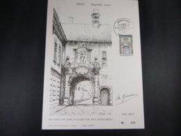 "BELG.1980 1997 FDC Filatelic Card: "" Tourisme DIEST "" - FDC"