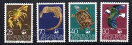 Serie Nº 587/90 Liechtenstein - Sellos