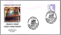 ORGANO De La Iglesia S.Maria Assunta - ORGAN. Antrodoco, Rieti, 2010 - Música