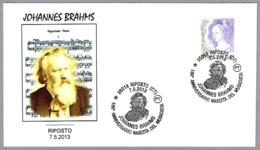 180 Aniv. Nacimiento JOHANNES BRAHMS. Riposto, Catania, 2013 - Música