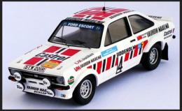 Ford Escort MKII RS 1600 - VN Vauhdin Maalilma - Hannu Mikkola/A. Hertz - Sweden Rally 1979 #4 - Troféu - Trofeu