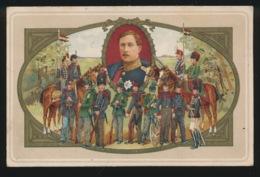 BELGISCHE REGIMENTEN MET KONING ALBERT I - Regiments
