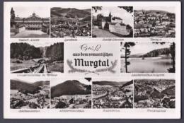 AK Gruß Aus Dem Romantischen Murgtal - Gebraucht Used - 1956 - Germany