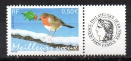 Sello De  Francia  Año 2003 - Pájaros