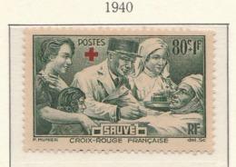 PIA - FRA - 1940 : A Favore Dei Feriti + Croce Rossa - (Yv 459-60) - Primo Soccorso