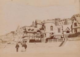Photo Originale 1900 Trouville La Plage - Lieux