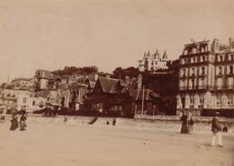 Photo Originale 1900 Trouville La Plage - Places