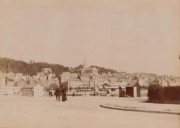 Photo Originale 1900 Trouville Vue Générale - Lieux