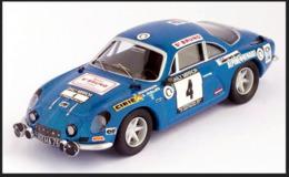 Alpine Renault A110 - O. Andersson/G. Phillips - RAC Rally 1971 #4 - Troféu - Trofeu