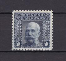 Bosnien-Herzegowina - Österreichische Besetzung - 1906 - Michel Nr. 44 C - Gez. 9 1/4 - 48 Euro - Bosnien-Herzegowina