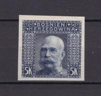 Bosnien-Herzegowina - Österreichische Besetzung - 1906 - Michel Nr. 44 U - 40 Euro - Bosnien-Herzegowina