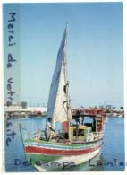 -  8808 - DJIBOUTI - Boutre  à L'escale, Grand Format, Non écrite, Coins Ok, TBE, Scans.. - Djibouti