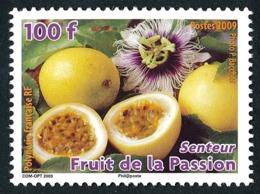 POLYNESIE 2009 - Yv. 878 **  - Flore. Fruit De La Passion  ..Réf.POL24856 - Französisch-Polynesien