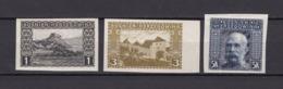 Bosnien-Herzegowina - Österreichische Besetzung - 1906 - Michel Nr. 29 U + 31 U SR + 44 U - Bosnien-Herzegowina