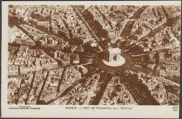 L'Arc De Triomphe De L'Étoile, Paris, C.1920s - CAF Noyer Photo CPA - District 08