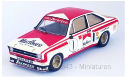 Ford Escort MK II - Ford Zakspeed - Marlboro - Hans Heyer - 2nd Macau 1975 #1 - Troféu - Trofeu