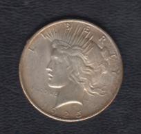 ESTADOS UNIDOS. AÑO 1925.-  1 DOLAR PLATA. PESO 26,70 GR - EDICIONES FEDERALES
