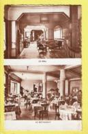 * Lourdes (Dép 65 - Hautes Pyrénées - France) * (J. Le Marigny, Editeur La Seyne) Grand Hotel Bellevue, Hall, Restaurant - Lourdes