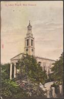 St Luke's Church, West Norwood, London, 1908 - Stengel Postcard - London Suburbs