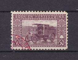 Bosnien-Herzegowina - Österreichische Besetzung - 1906 - Michel Nr. 41 C - Gez. 9 1/4 - Stempel Rot - 56 Euro - Bosnien-Herzegowina