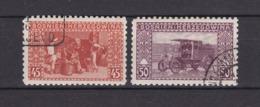 Bosnien-Herzegowina - Österreichische Besetzung - 1906 - Michel Nr. 40/41 C - Gez. 9 1/4 - 50 Euro - Bosnien-Herzegowina