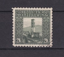 Bosnien-Herzegowina - Österreichische Besetzung - 1906 - Michel Nr. 43 C - Gez. 9 1/4 - 40 Euro - Bosnia And Herzegovina