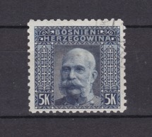 Bosnien-Herzegowina - Österreichische Besetzung - 1906 - Michel Nr. 44 C - Gez. 9 1/4 - 30 Euro - Bosnia And Herzegovina