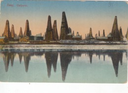 AZERBAIJAN.   #3262 BAKU. SABUNCHI. OIL TOWERS. - Azerbeidzjan