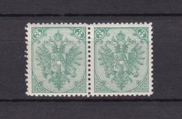 Bosnien-Herzegowina - Österreichische Besetzung - 1879/98 - Michel Nr. 3 II Paar - 30 Euro - Bosnien-Herzegowina