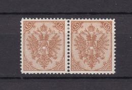 Bosnien-Herzegowina - Österreichische Besetzung - 1879/98 - Michel Nr. 6 II Paar - 35 Euro - Bosnien-Herzegowina