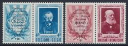 BELGIUM 1952 UNESCO Nº 898/899 * MH - Bélgica