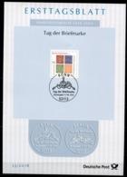 """Germany,Bund 2018  ETB 33/2018 Mi.Nr.3412  """"Tag Der Briefmarke,Day Of Stamps,Briefmarke Auf Briefmarke """"1 Big ETB - Tag Der Briefmarke"""