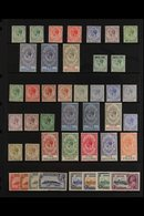 1912-36 KGV MINT COLLECTION Presented On A Stock Page That Includes 1912-24 MCA Wmk Range With Most Values To 2s & 4s,  - Gibilterra