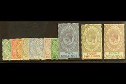1921-27 King George V (watermark Multi Script CA) Complete Definitive Set, SG 89/101, Fine Mint. (11 Stamps) For More Im - Gibilterra