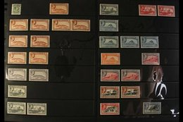 1938-51 MINT DEFINITIVES A Mostly Fine Mint Lightly Duplicated Assembly With Values From ½d To 10s, Includes For Example - Gibilterra