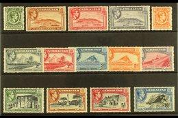 1938-51 Pictorial Definitive Set, SG 121/31, Fine Mint (14 Stamps) For More Images, Please Visit Http://www.sandafayre.c - Gibilterra