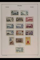 1953-1981 MINT / NHM COLLECTION. An Attractive Collection Presented In Mounts On Printed Pages, Highly Complete From The - Gibilterra